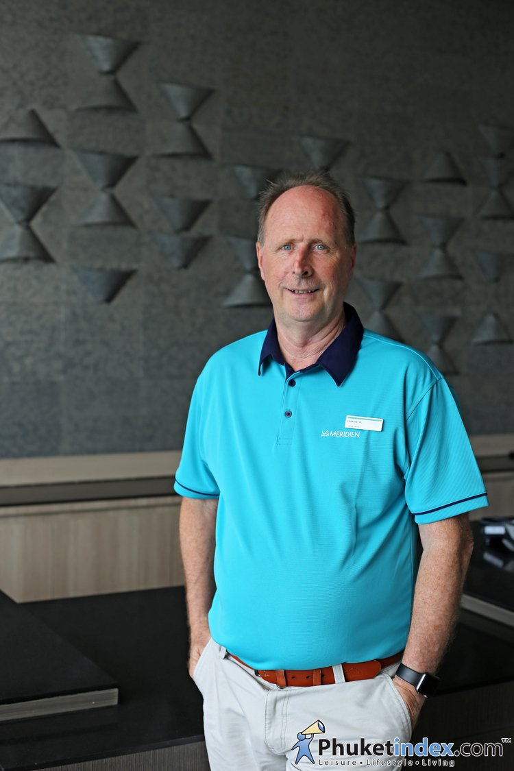 Mr.Trevor May - Hotel General Manager of Le Méridien Khao Lak Resort & Spa