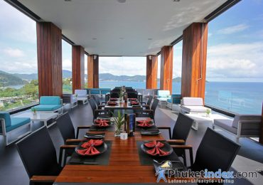 180 degree sea-view at The Meka Sky Lounge