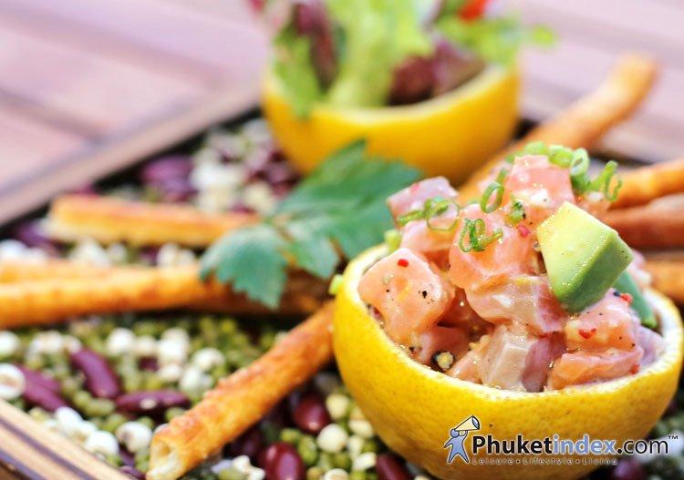 Talung Thai, fusion food with sea view at Paresa Resort Phuket