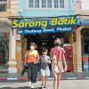 Sarong Batik at Thalang Road, Phuket